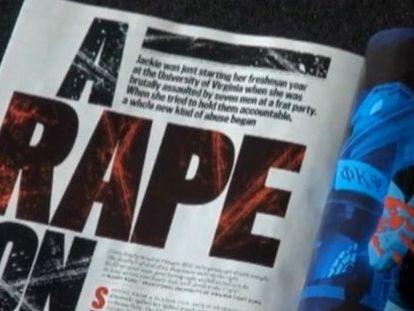 Ejemplar del artículo en la revista Rolling Stone.