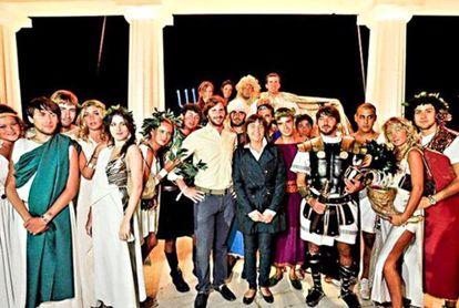 Una de las fiestas de 20.000 euros organizadas con dinero del erario público.