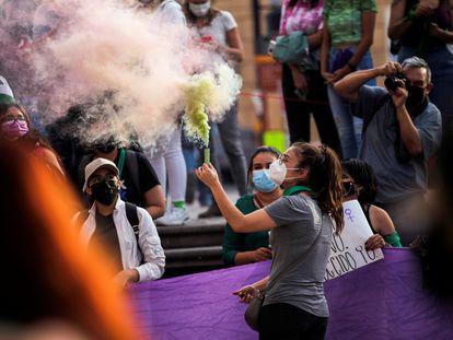 Una concentración para celebrar la despenalización del aborto en México, el 7 de septiembre en Saltillo.