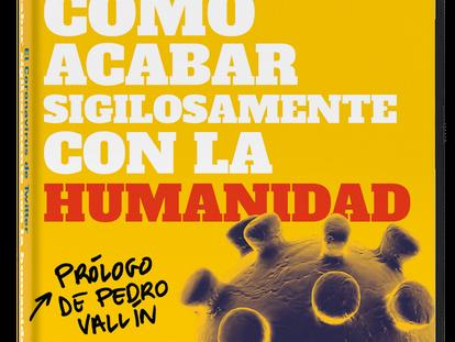 Portada de 'Cómo acabar sigilosamente con la humanidad', por el Coronavirus de Twitter.