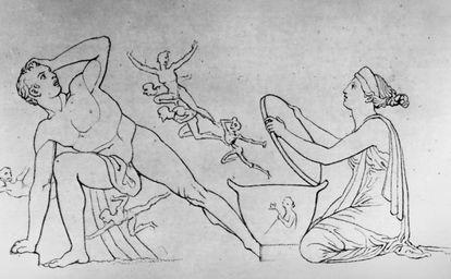 Epimeteo, Pandora y su caja (c.1794)
