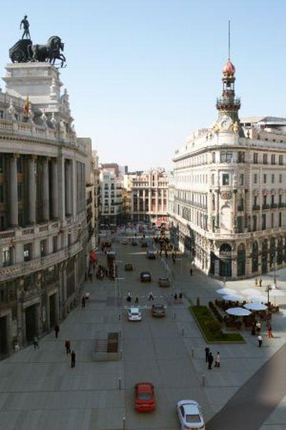Recreación municipal de cómo quedará la calle de Sevilla.