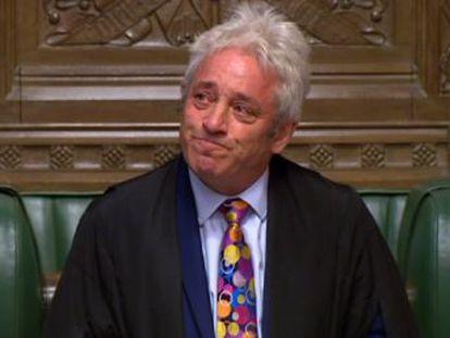Bercow ha sido el  speaker  de la Cámara de los Comunes durante 10 años. Sus críticos cuestionan la forma en que combatió un Brexit duro