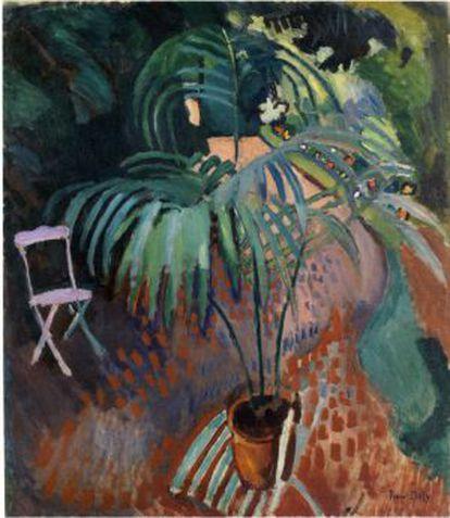 'La pequeña palmera', de Raoul Dufy.