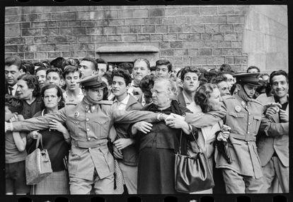 Visita de Franco a Barcelona en 1963