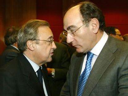 Florentino Pérez (ACS) e Ignacio Sánchez-Galán (Iberdrola).