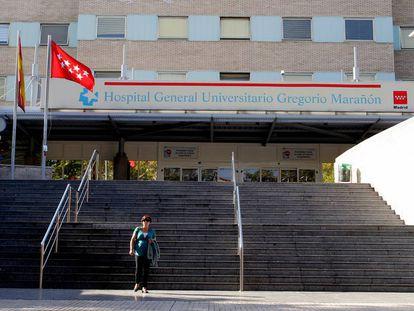 Fachada del hospital universitario Gregorio Marañon.