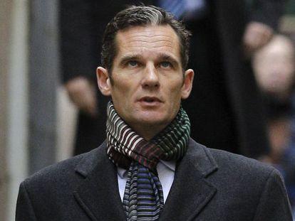 Iñaki Urdangarin a su llegada a los juzgados de Palma en febrero de este año.