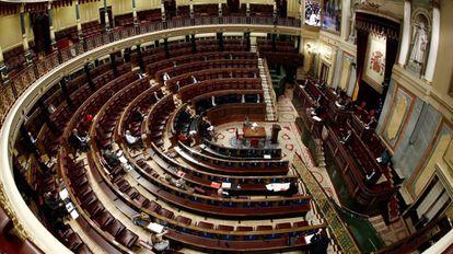 Pleno del Congreso celebrado el pasado 25 de marzo. / MARISCAL (EFE)