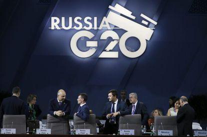 Reunión del G-20 hoy en Moscú.