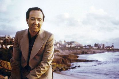 José Manuel Vidal-Beneyto, fotografiado en La Joya (California) en 1972.