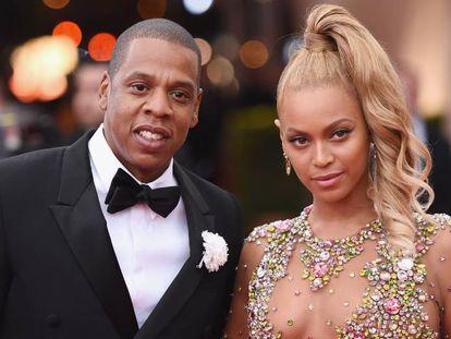 Beyoncé y Jay Z en la gala MET de 2015.