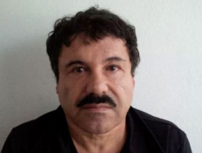 Joaquin Guzman Loera, 'El Chapo Guzman', en febrero de 2014.