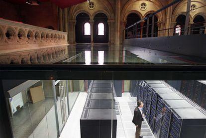 Mare Nostrum, el mayor supercomputador español.