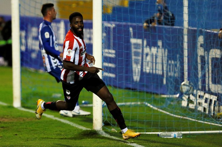 Williams, after scoring the 1-2 at Alcoyano.