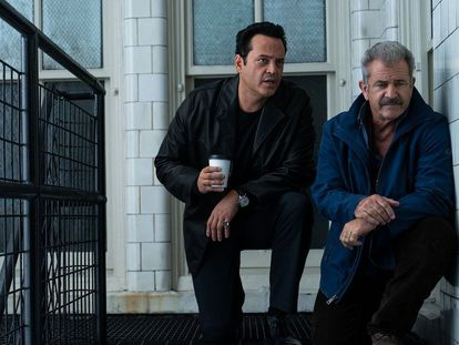 Vince Vaughn y Mel Gibson, en 'Dragged Across Concrete'.
