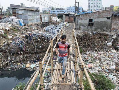 El aire, el agua y el oído, víctimas del país más polucionado del planeta