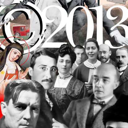 Autores que pasan a dominio público en 2013