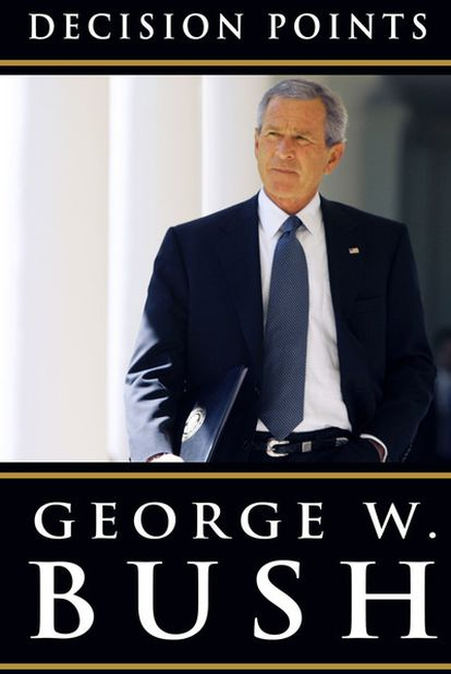 La portada del libro de Bush.