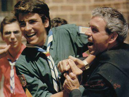 Andreu Soler, acusado de abusos y fundador de los 'scouts' de Montserrat, en una imagen de los años noventa.
