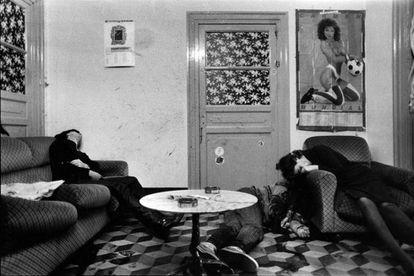 'Asesinato en un prostíbulo' (Palermo, 1985), una de las fotografías de Letizia Battaglia.