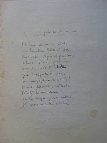 Poema de Aleixandre.