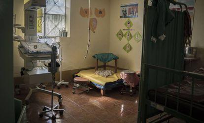 Sala de parto con adecuación intercultural. Imagen cedida por Tripulante Produce.