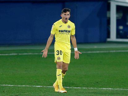 El delantero del Villarreal, Yeremi Pino.