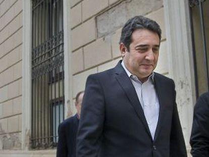 Bustos, tras dimitir en marzo como alcalde de Sabadell.