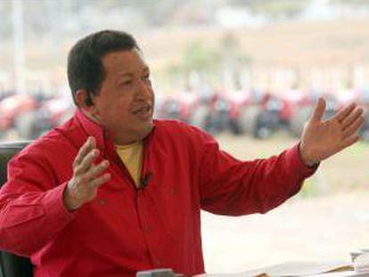 Entre diciembre de 2002 y febrero de 2003, una huelga impulsada por la oposición para presionar al presidente Hugo Chávez a renunciar prácticamente paralizó la petrolera y derivó en el despido de la mayor parte de la directiva de PDVSA y de cerca de 20.000 empleados. EFE/Archivo