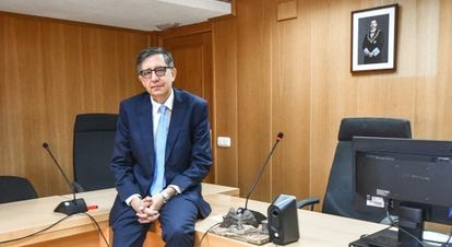 José Luis Puerta, fiscal de Menores de Ceuta, en junio.