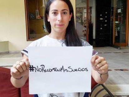 La deportista colombiana Mariana Pajón y su campaña en contra de los rectores al deporte.