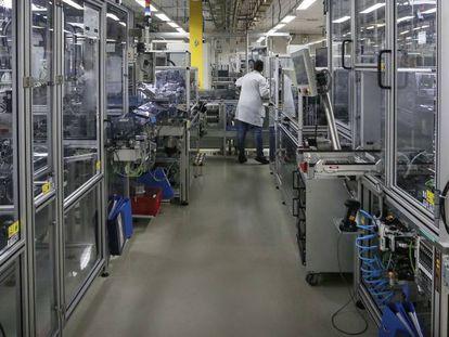 Imagen del centro de producción de Bosch en Madrid.