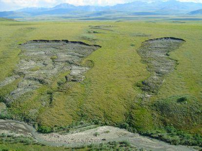 Paisaje veraniego de los Territorios del Noroeste (Canadá) en el que se podrá sembrar trigo a finales de siglo.