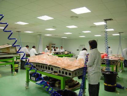 Centro de producción de Carbures en El Puerto de Santa María.