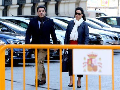 David Marjaliza llega a la Audiencia Nacional para declarar por el caso Punica.