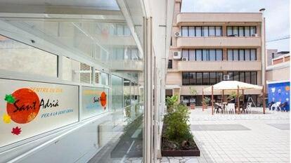 La residencia Sant Adrià del Besós, intervenida por la Generalitat por falta de personal en la crisis del coronavirus.