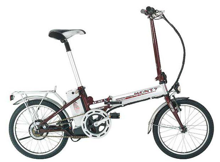 Bicicleta eléctrica plegable Monty EF-38.
