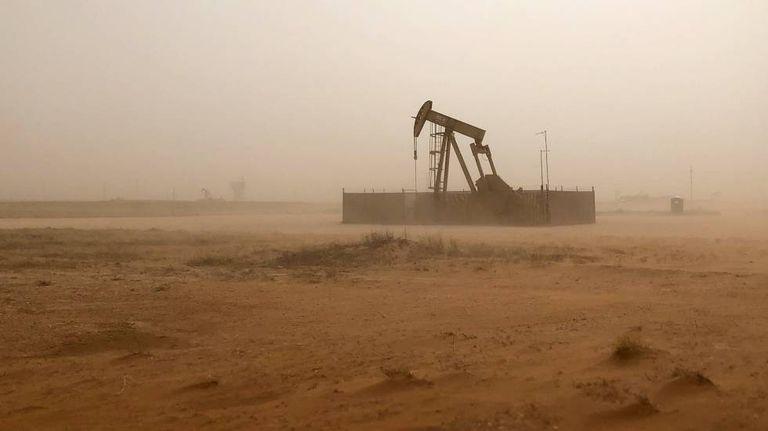 Una bomba de extracción de petróleo en Texas (EE UU).