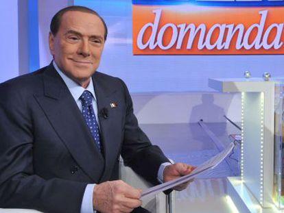 El ex primer ministro Berlusconi, el pasado 13 de enero.