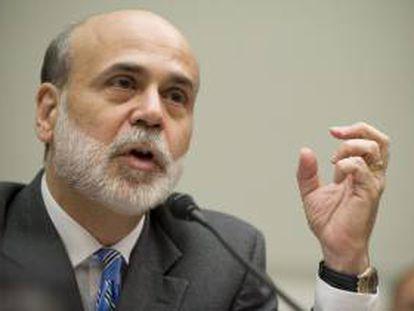 El presidente de la Fed, Ben Bernanke, abrió la puerta a esta posibilidad de estímulo a finales de agosto, pero mantuvo su característica cautela para no concretar ni planes ni plazos. EFE/Archivo