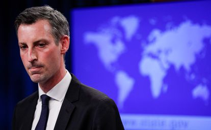 Ned Price, portavoz del Departamento de Estado de Estados Unidos, el pasado 15 de junio, en Washington.