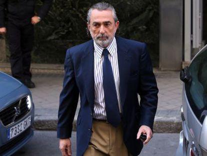 Francisco Correa, a su llegada a la Audiencia Nacional, en una imagen de archivo.