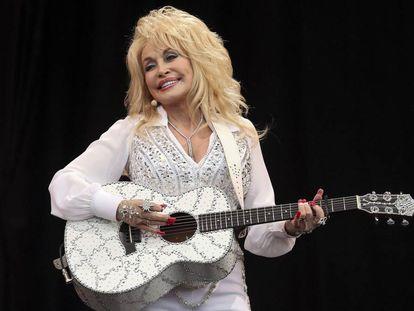 Dolly Parton, en una actuación en 2014.