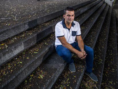 Antonio Carrillo, en los Llanos de Aridane (La Palma) este jueves.