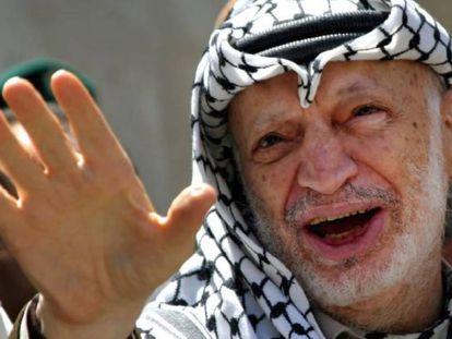 Yasir Arafat en una foto de archivo.