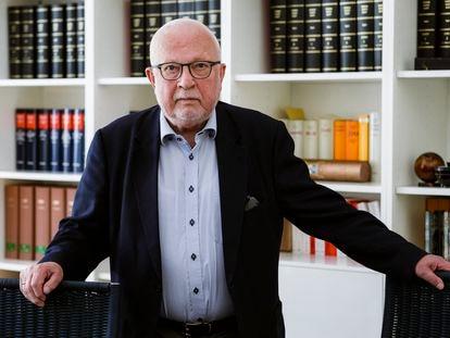 Lothar de Maizière, en su despacho de Berlín el pasado 16 de septiembre.