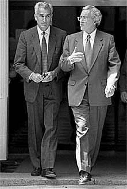 Rafael Vera y José Barrionuevo.