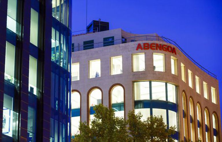 Oficinas de Abengoa en Madrid.