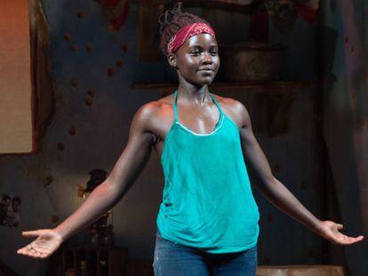 Lupita Nyong'o, en un momento de su interpretación en 'Eclipsed'.